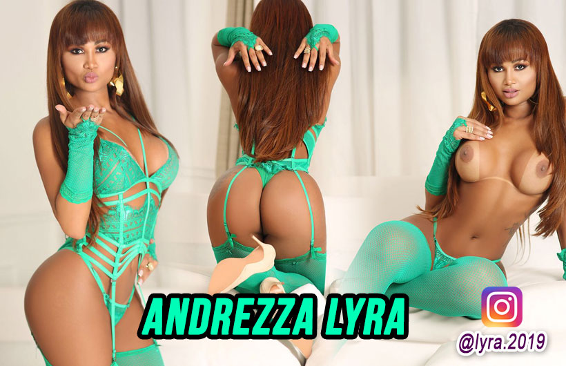 Andrezza Lyra - Acompanhante travesti de são paulo