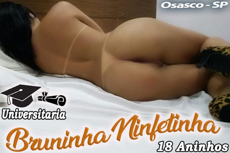 Bruninha Ninfetinha - Acompanhante travesti são paulo