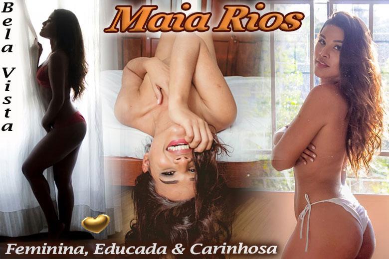 Maia Rios - Acompanhante traveti são paulo
