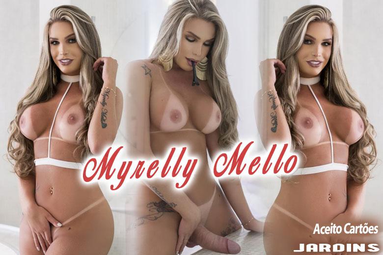 Myrelly Mello - Acompanhante travesti São Paulo