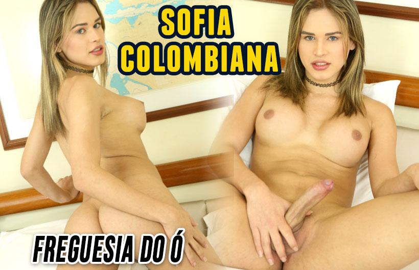 Sofia Colombiana - Acompanhante travesti são paulo