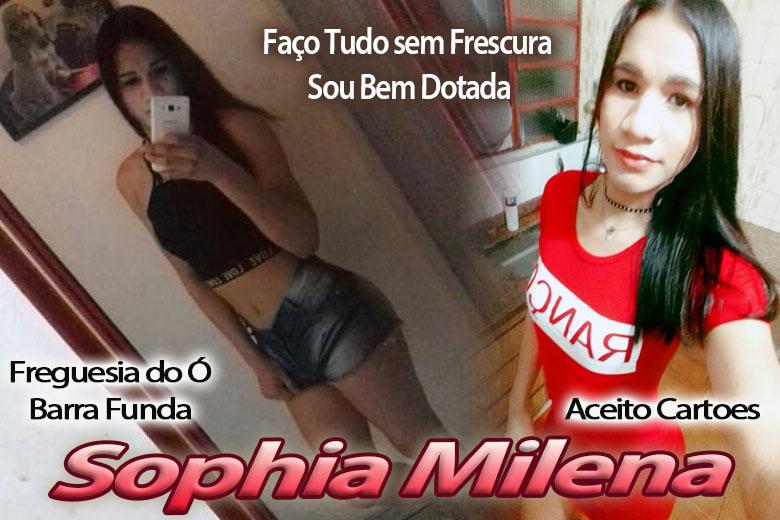 Sophia Milena - Acompanhante Travesti São Paulo